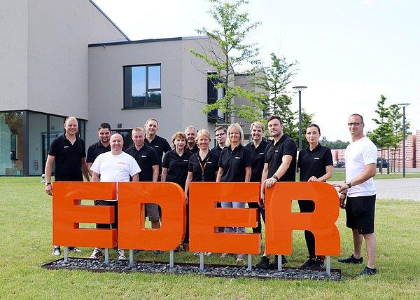 Team, Eder Team, Eder Mitarbeiter, Arbeiten bei Eder, Unternehmen Eder