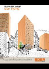 Planungshilfe für flexible Raumhöhen mit EDER XV Ziegel